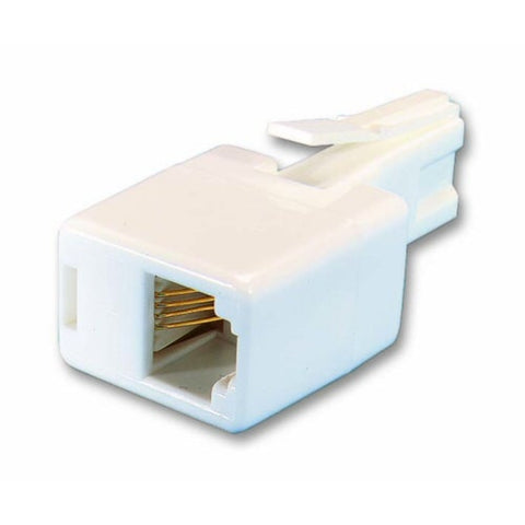 BT431a Male to RJ11 Female Straight Adapter (High Quality)