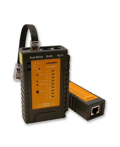 RJ45 Network Cable Tester with Network Switch Port/Cable Tracking - KA228
