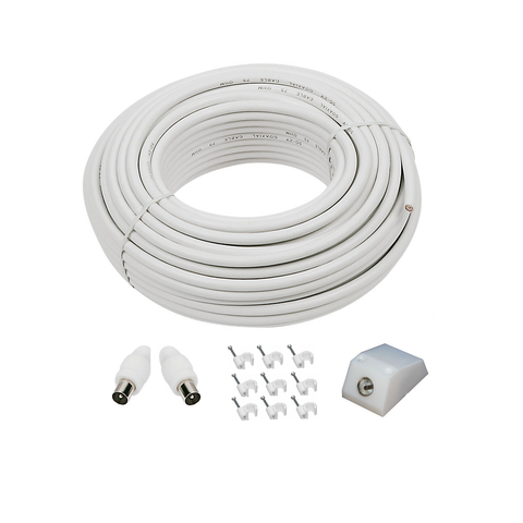 TV Aerial Extension Kit, 3m to 100m Lengths