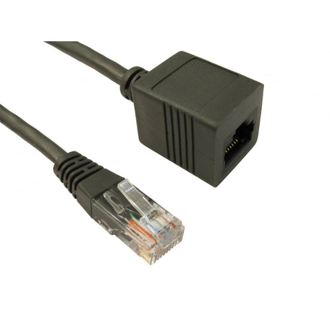 Cat5e UTP Extension Cable - Ethernet Extension Cable 0.5m to 10m Lengths