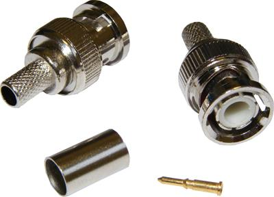 BNC Crimp-on Plugs (RG59)