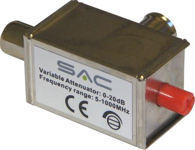 Variable Attenuator IEC 0-20db 5-1000MHz