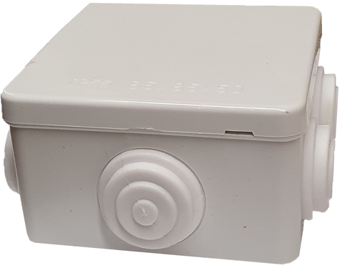 CCTV Junction Box, Outdoor Weatherproof IP55 Terminal Box Grey