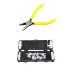 Dex Seal 2/4 External Telephone Joint Connection Box for Overhead Telephone Cables - Dexseal 2/4 Plus Jelly Crimp Tool