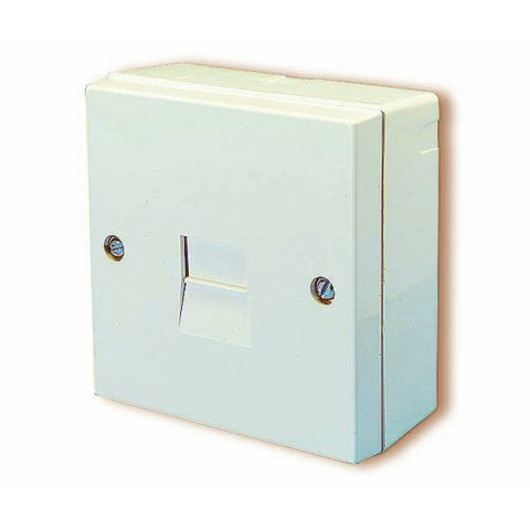 BT LJU2/1A Master Telephone Socket – Surface Mounting