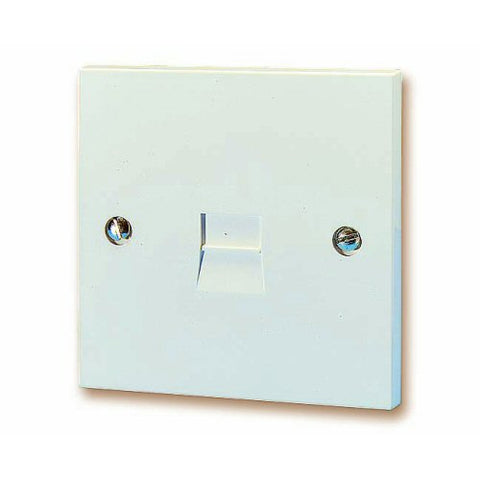 BT LJU3/1A Master Extension Socket – Flush Mounting