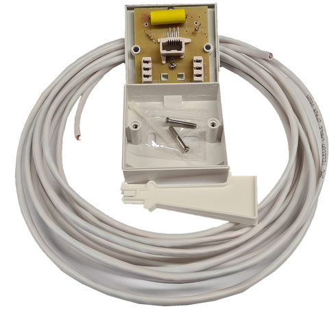 Telephone extension kit - 3m to 100m lengths