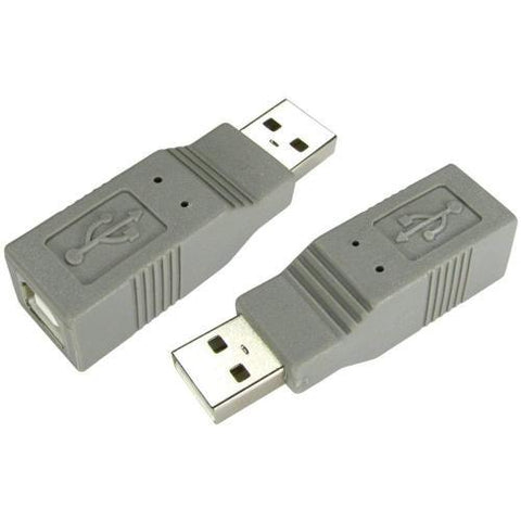 USB 2.0 Type A (M) to Type B (F) Adapter - Bristol Communications
