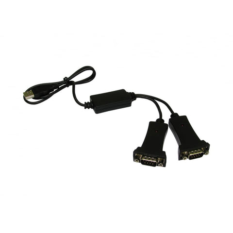 USB to Dual Serial Adapter - Bristol Communications