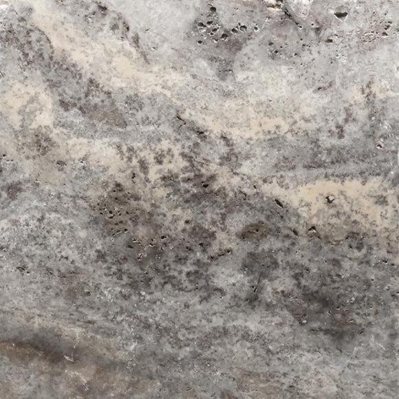 Silver Travertine - BigAppleMarble.com