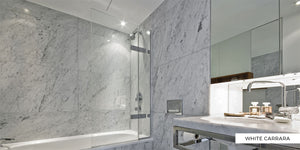 Big Apple Marble - White Carrara Marble, Grey Marble