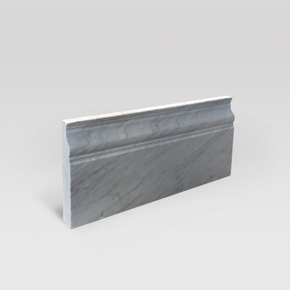 Bardiglio Polished Base Marble Moulding - BigAppleMarble.com