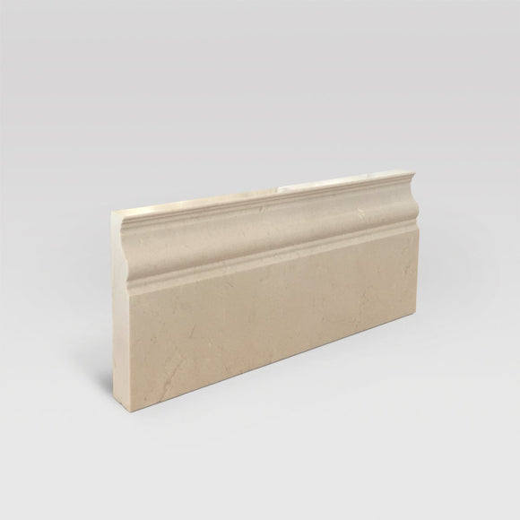 Crema Marfil Select Polished Base Marble Molding - BigAppleMarble.com