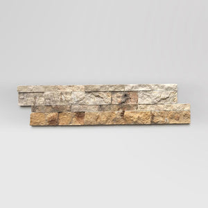 "Scabos Travertine Ledger Panel 6""x24"" - BigAppleMarble.com"