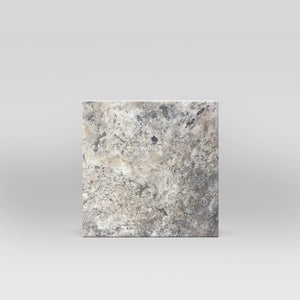 "Silver Travertine Honed 12""x12"" Tile - BigAppleMarble.com"