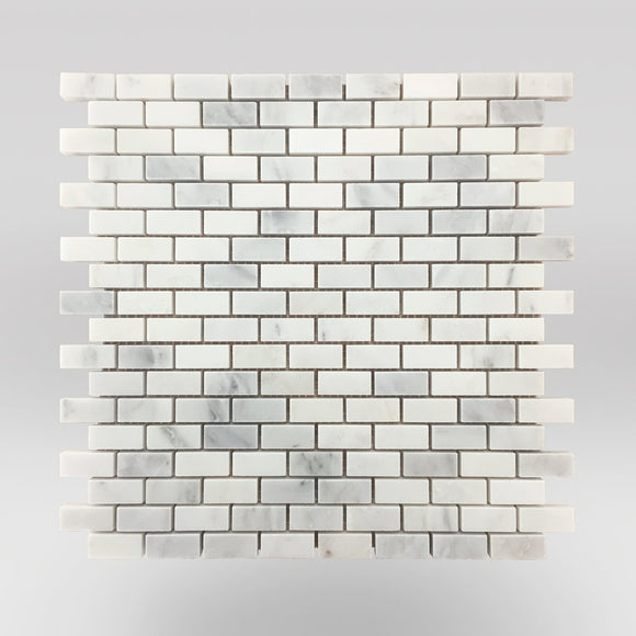 Oriental White/Eastern White Polished Mini Brick  5/8