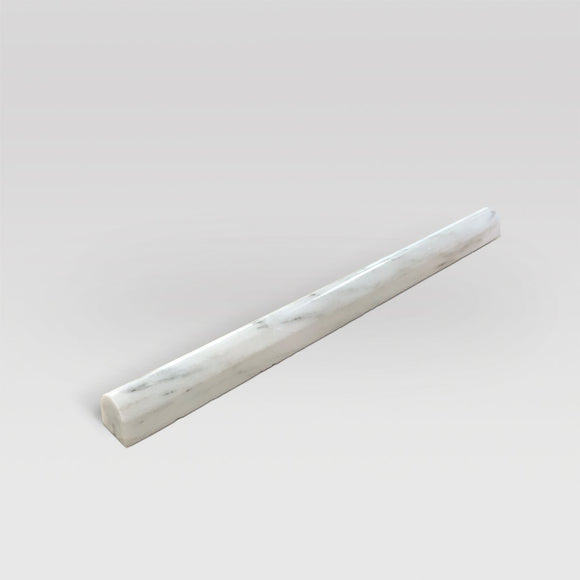 Oriental White/Eastern White Polished Pencil 3/4