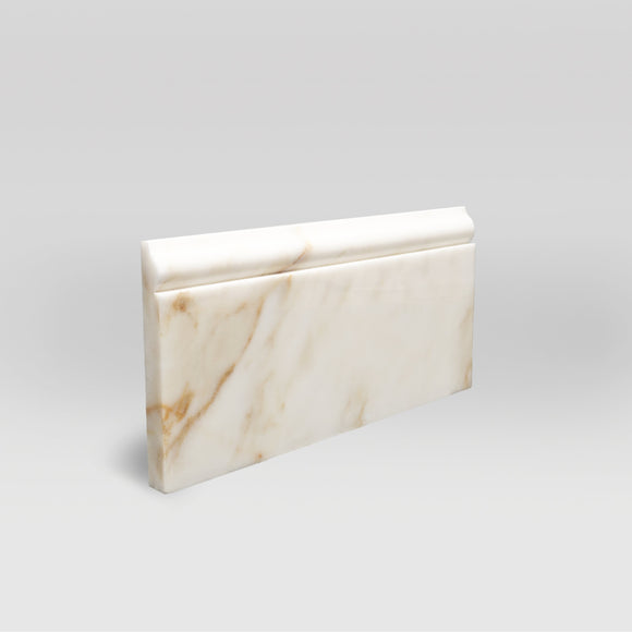 Afyon Sugar Polished Base Marble Moulding BigAppleMarble.com