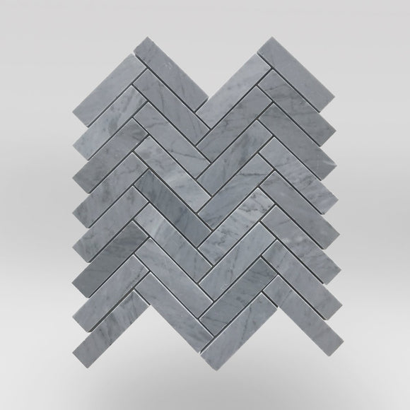 Bardiglio Polished Herringbone 1