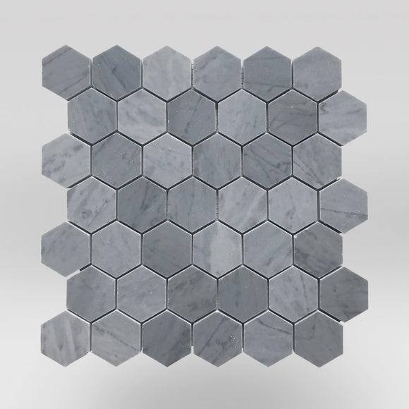 Bardiglio Polished Hexagon 2