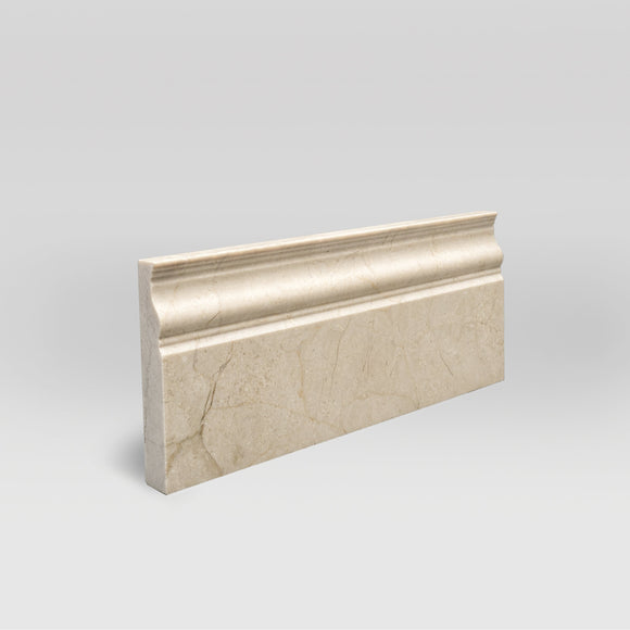 Bursa Beige Polished Base Marble Moulding BigAppleMarble.com