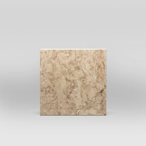 "Cappuccino Polished 4""x4"" 