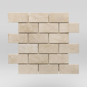 "Crema Marfil Select Polished 2""x4"" 