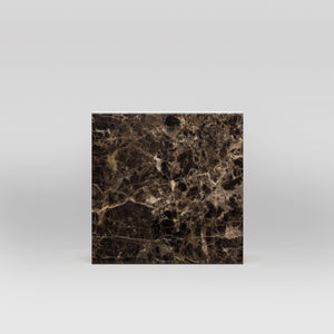 "Dark Emperador Polished 12""x12"" 