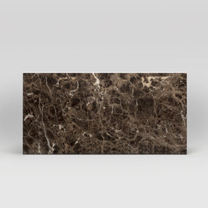 "Dark Emperador Polished 12""x24"" 