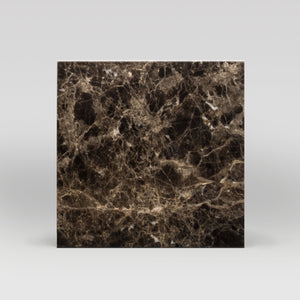"Dark Emperador Polished 18""x18"" 
