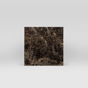 "Dark Emperador Polished 6""x6"" 