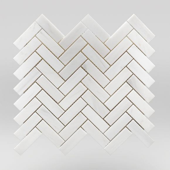 Dolomite Polished Herringbone 1