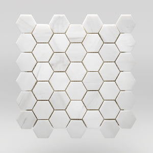 Dolomite Polished Hexagon 2"
