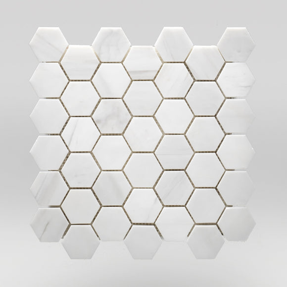 Dolomite Polished Hexagon 2