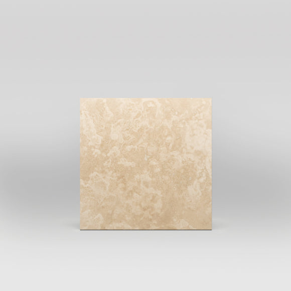 Ivory (White) Travertine Honed 12