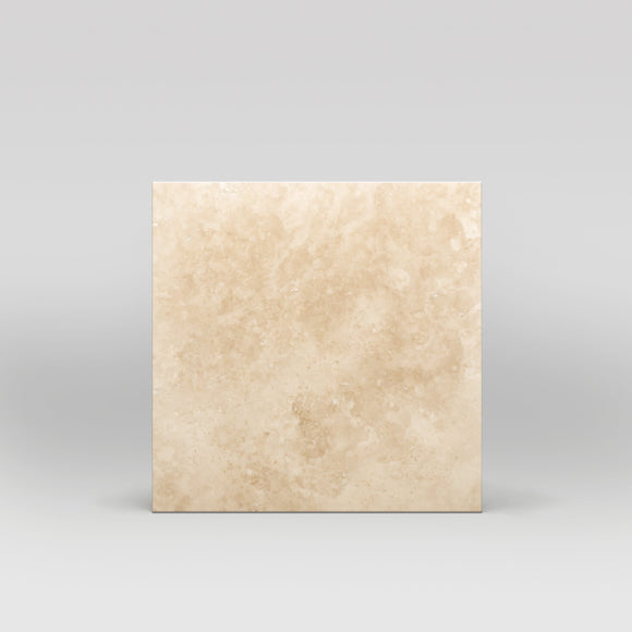 Ivory (White) Travertine Honed 16