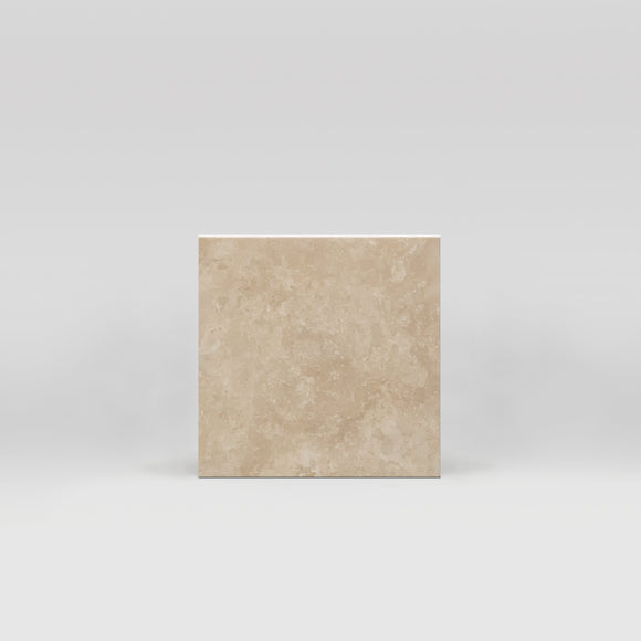 Ivory (White) Travertine Honed 4