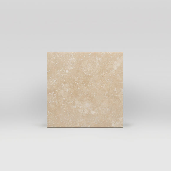 Ivory (White) Travertine Honed 6