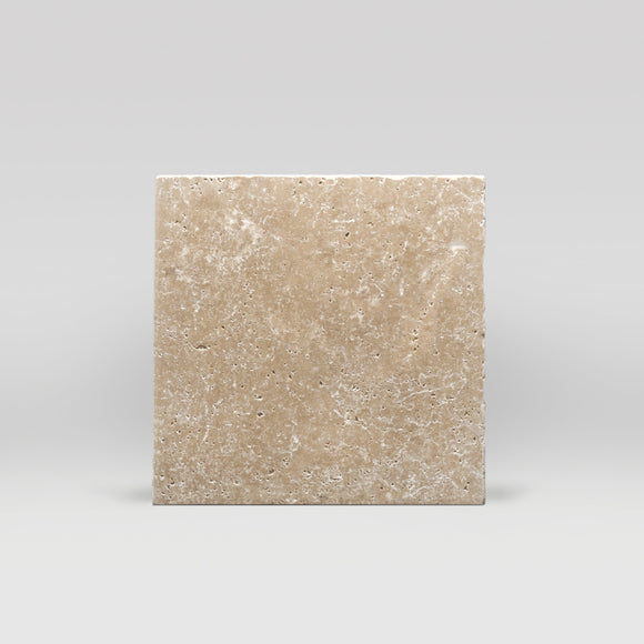 Ivory (White) Travertine Tumbled 12