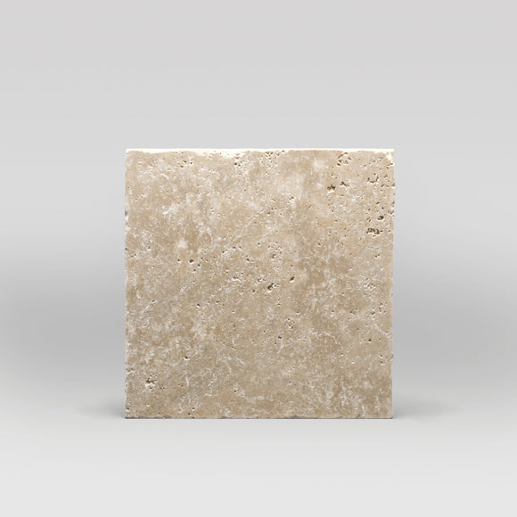 Ivory (White) Travertine Tumbled 16