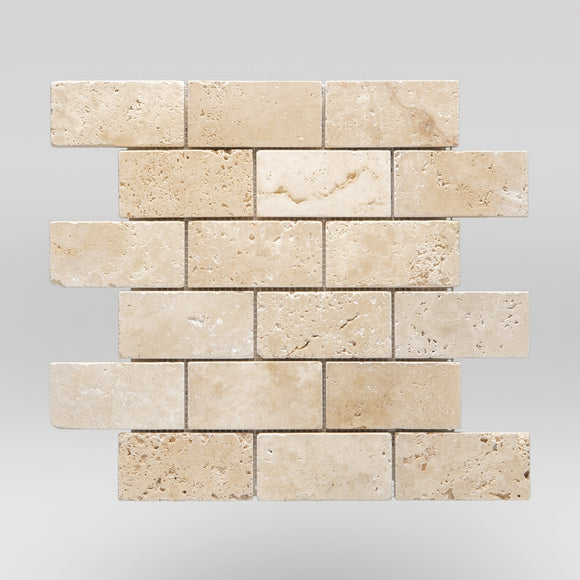 Ivory (White) Travertine Tumbled 2