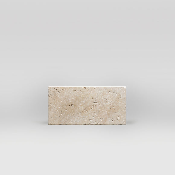 Ivory (White) Travertine Tumbled 3