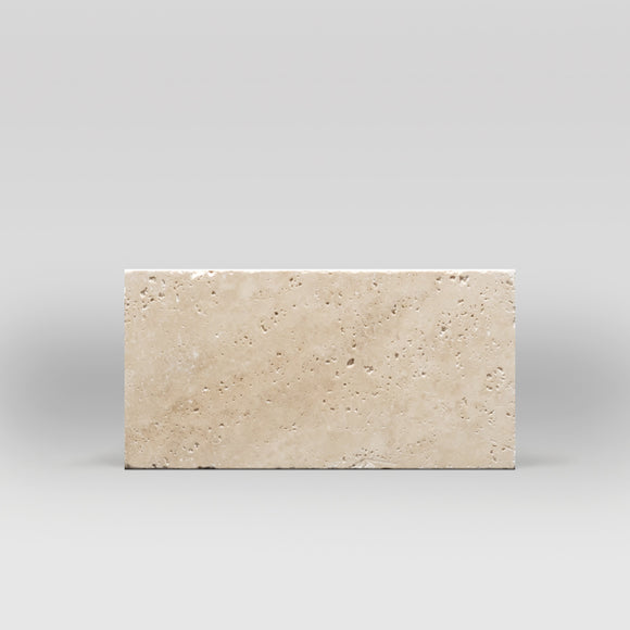 Ivory (White) Travertine Tumbled 6