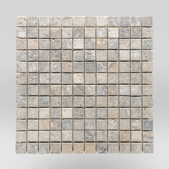 Silver Travertine Tumbled 1