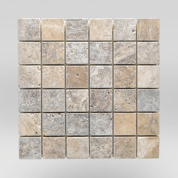 Silver Travertine Tumbled 2