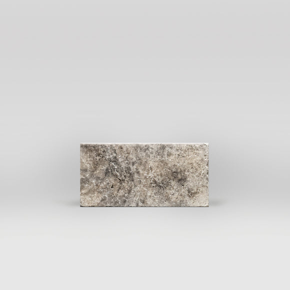 Silver Travertine Tumbled 3