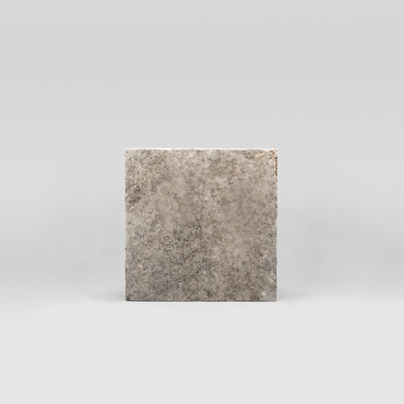Silver Travertine Tumbled 4