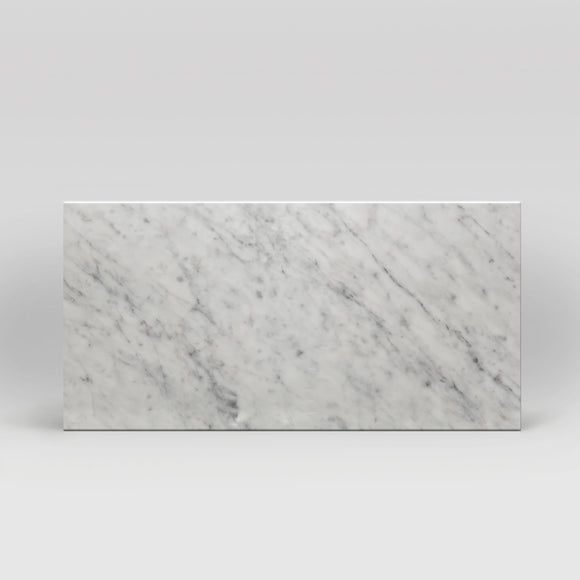 White Carrara Polished 12