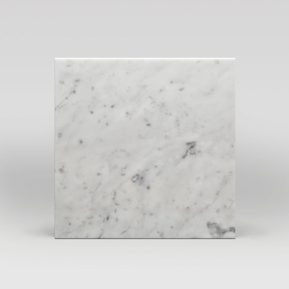 White Carrara Polished 18
