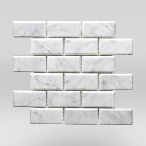 White Carrara Polished 2